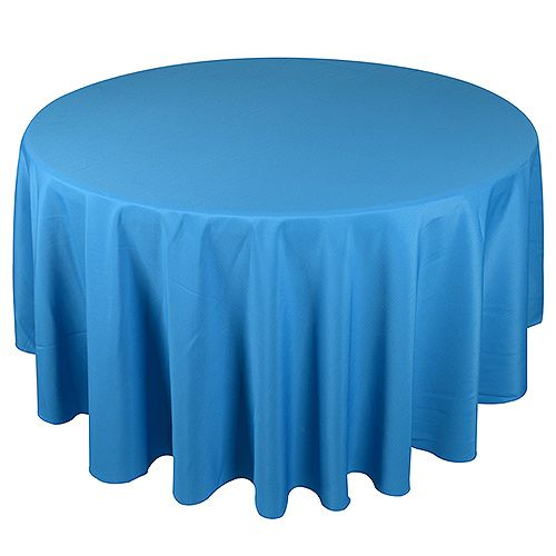 90 Inch Turquoise 90 Inch Round Tablecloths