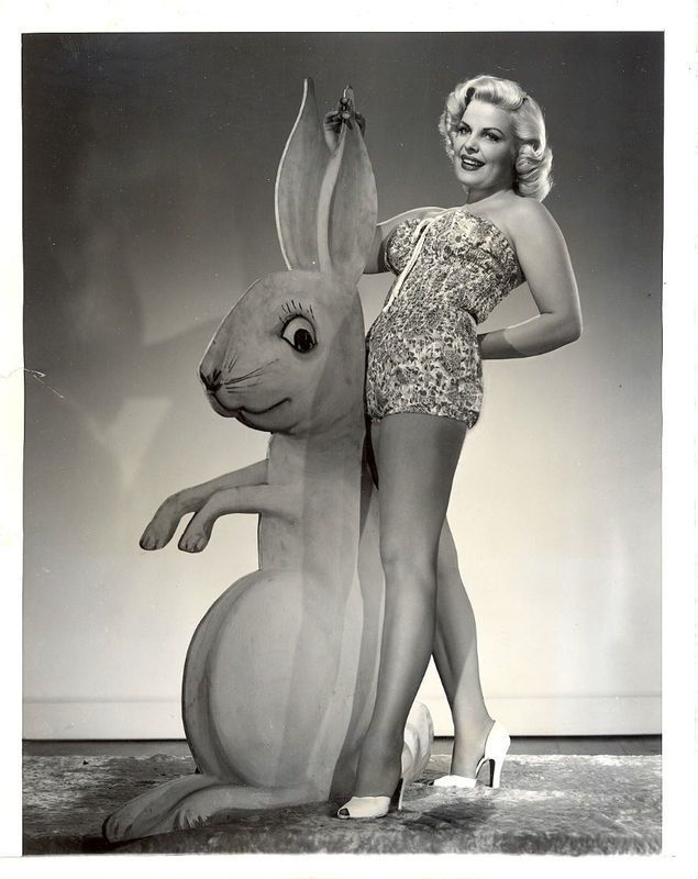 Bunny girls: bizarre and sometimes slightly creepy vintage Easter pin up girls