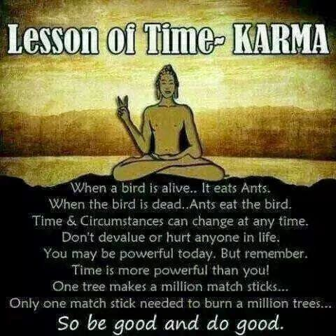 Lesson Of Time KARMA Messages Quotes Karma Quotes Karma Magnificent Humorous Quotes About Life Lessons