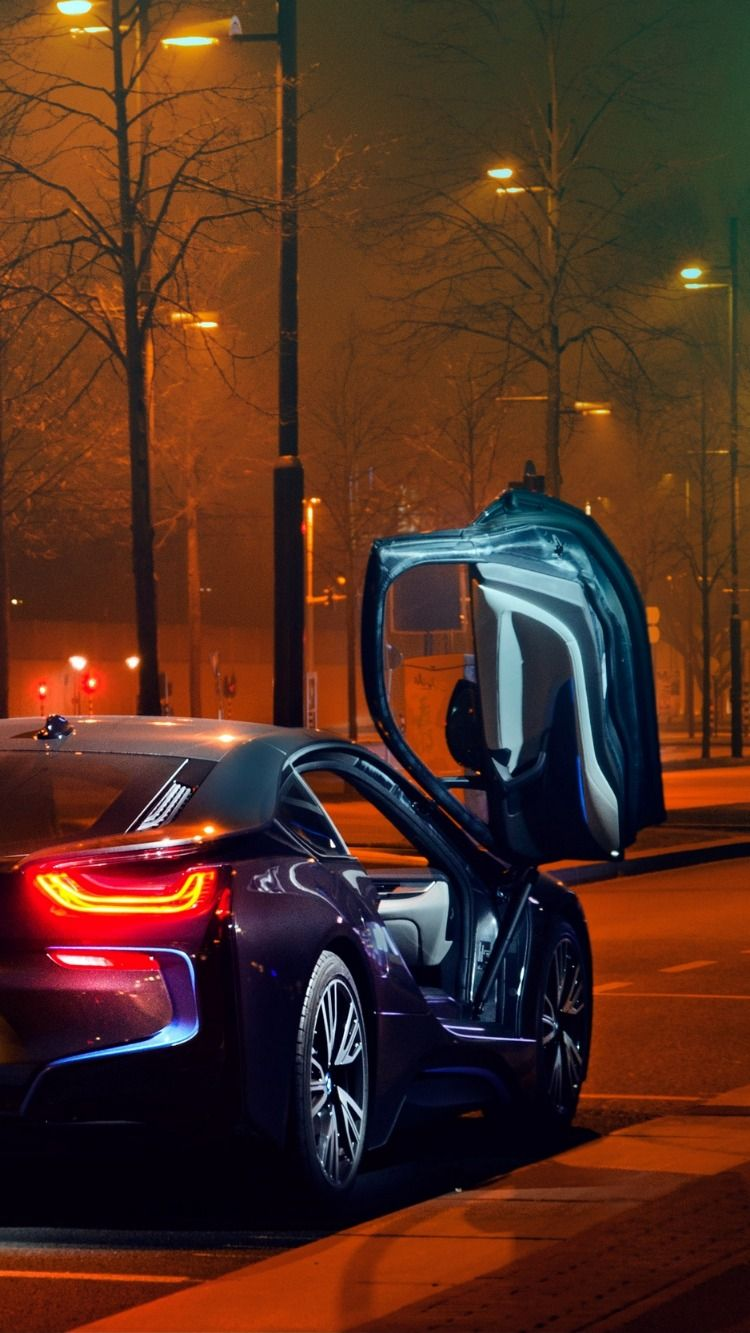 Bmw I8 Bmw Sportscar Supercar Night Luxury Cars Expensive Cars Sports Cars