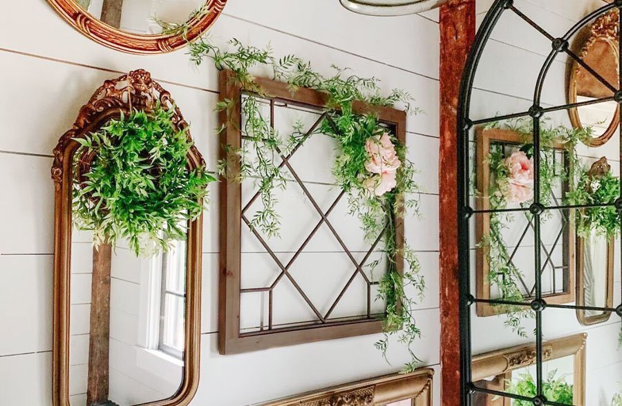 Huge Wooden Framed Metal Window Pane Pick Your Style Window Pane Decor Window Pane Antique Farmhouse