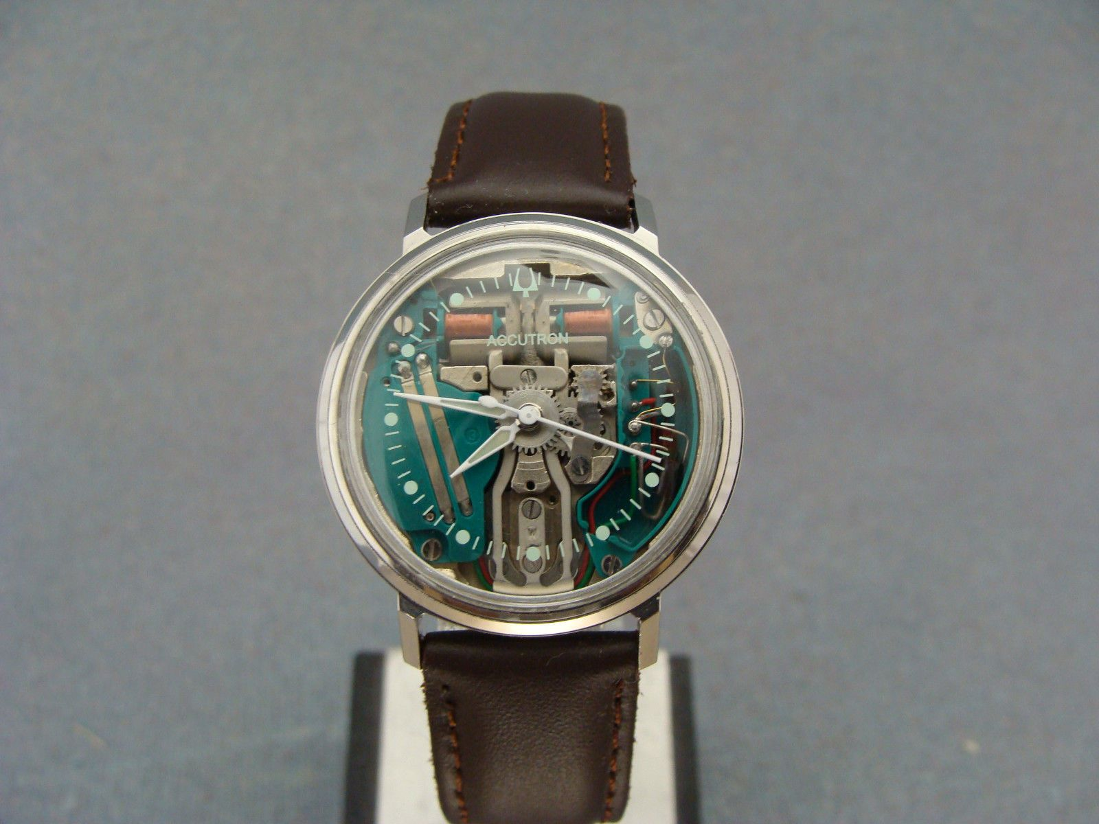 1967  BULOVA ACCUTRON 214 SPACEVIEW - STAINLESS STEEL | Jewelry & Watches, Watches, Parts & Accessories, Wristwatches | eBay!