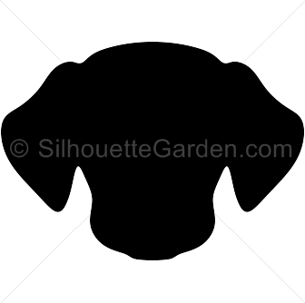 pin by muse printables on silhouette clip art at silhouettegarden rh pinterest com dog head clip art black and white dog head silhouette clip art free