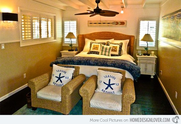Sail On With 15 Nautical Themed Bedrooms | Bedrooms, Navy bedrooms ...