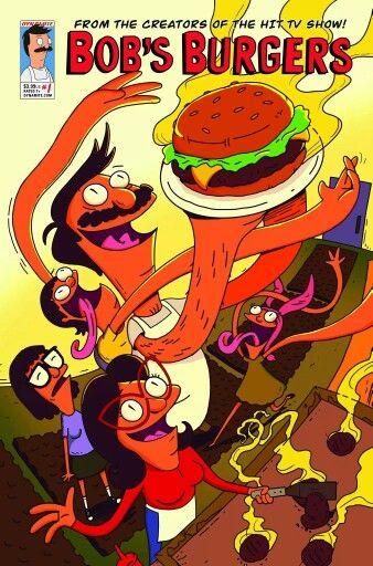 Bob S Burgers Comic 2014 Debut Bob S Burgers Bobs Burgers