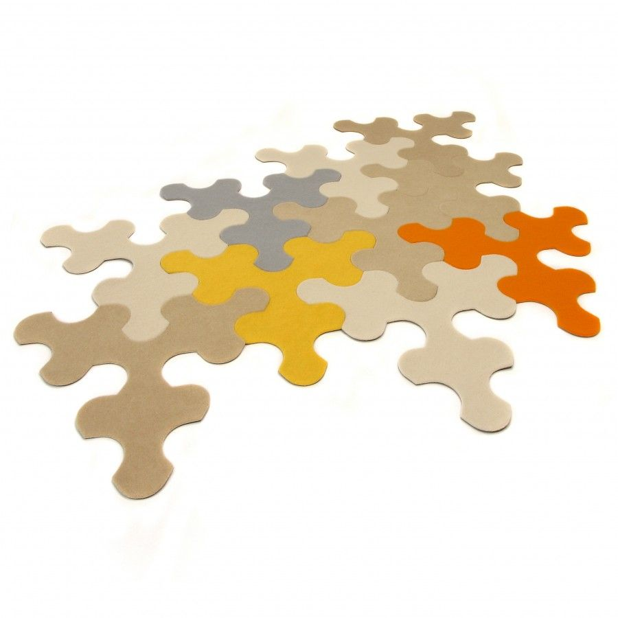 Puzzle Rug In Another Colorway Would Be Great On Hardwood Floors A Nursery Or Playroom