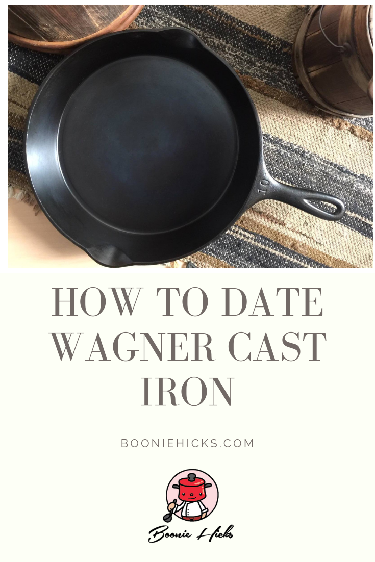 Dating vintage cast iron cookware