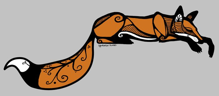 potential fox tattoo; yes, Folks, thinking of getting a fox tattoo, but it has to be JUST right...