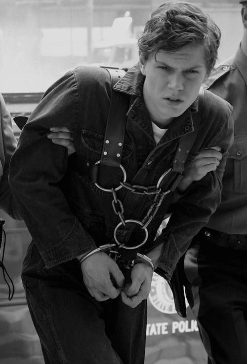 Evan Peters on AHS Asylum    this one @Kaia Adams | Good Looking
