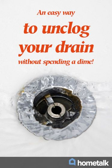 How To Unclog A Bathtub Drain (the Easy Way)