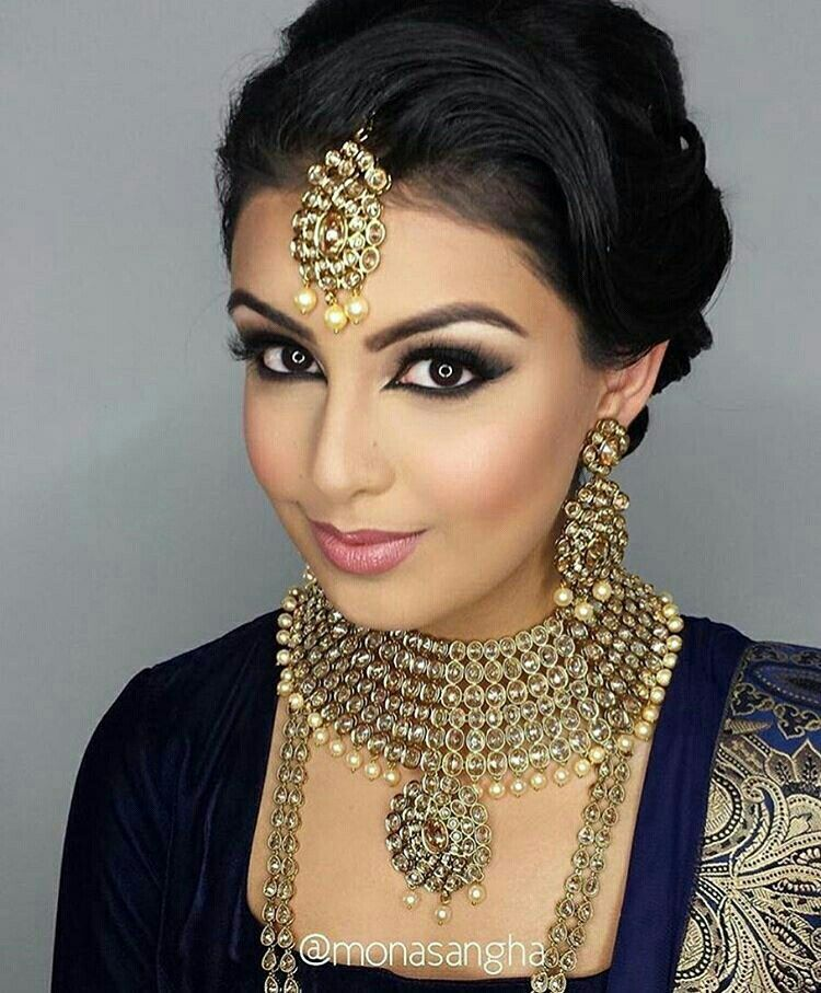 Mariage in 2020 Indian wedding makeup, Bollywood makeup