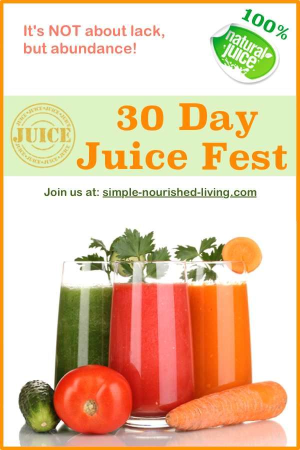 30 Days of Juicing and Weight Watchers {Juice Fest 2014}