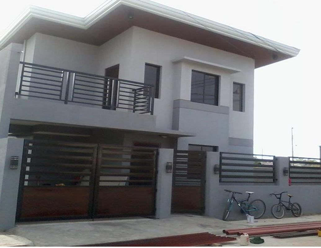 2nd Floor House Design With Balcony House With Balcony Simple House Design House Design