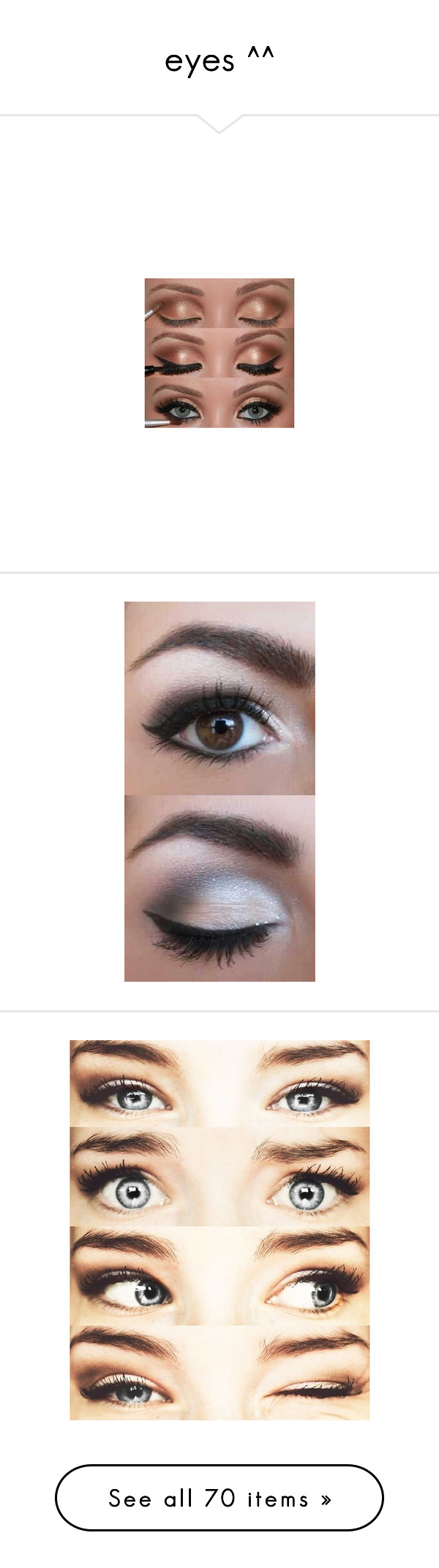 """""""eyes ^^"""" by stypayhorlikson1d ❤ liked on Polyvore"""