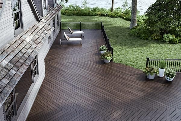 Trex Decking Composite Decking The Home Depot Canada