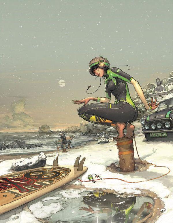 Folio illustration agency, London, UK | Gez Fry   Manga ∙ Anime ∙ Comic ∙ Contemporary ∙ Publishing ∙ Advertising   Illustrator