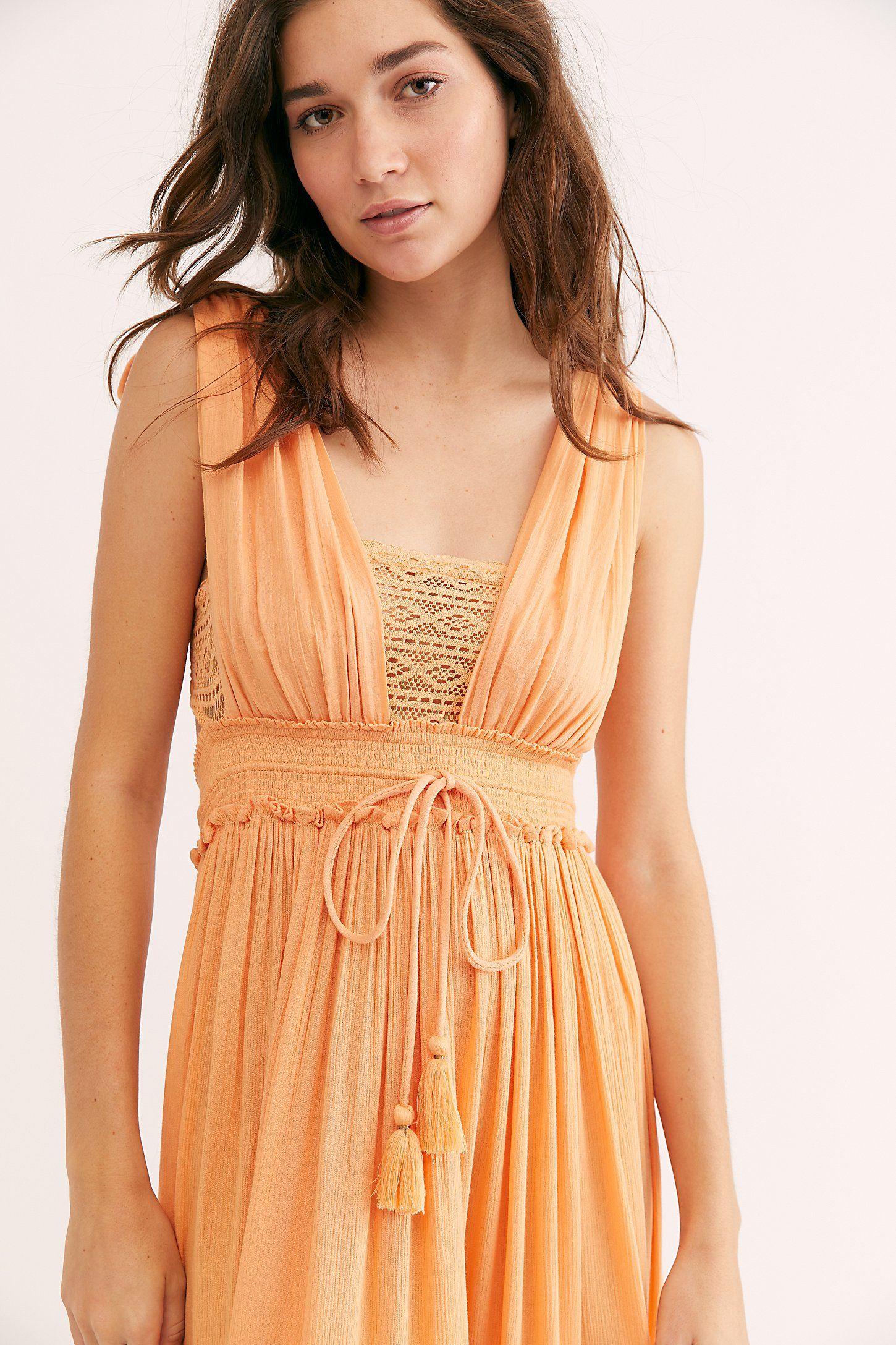 Santa Maria Maxi Dress Free People Maxi Dress Dresses Textured Fabric Dress [ 2175 x 1450 Pixel ]