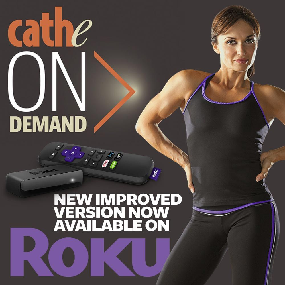 Cathe Live and OnDemand Roku Channel Instructions (With