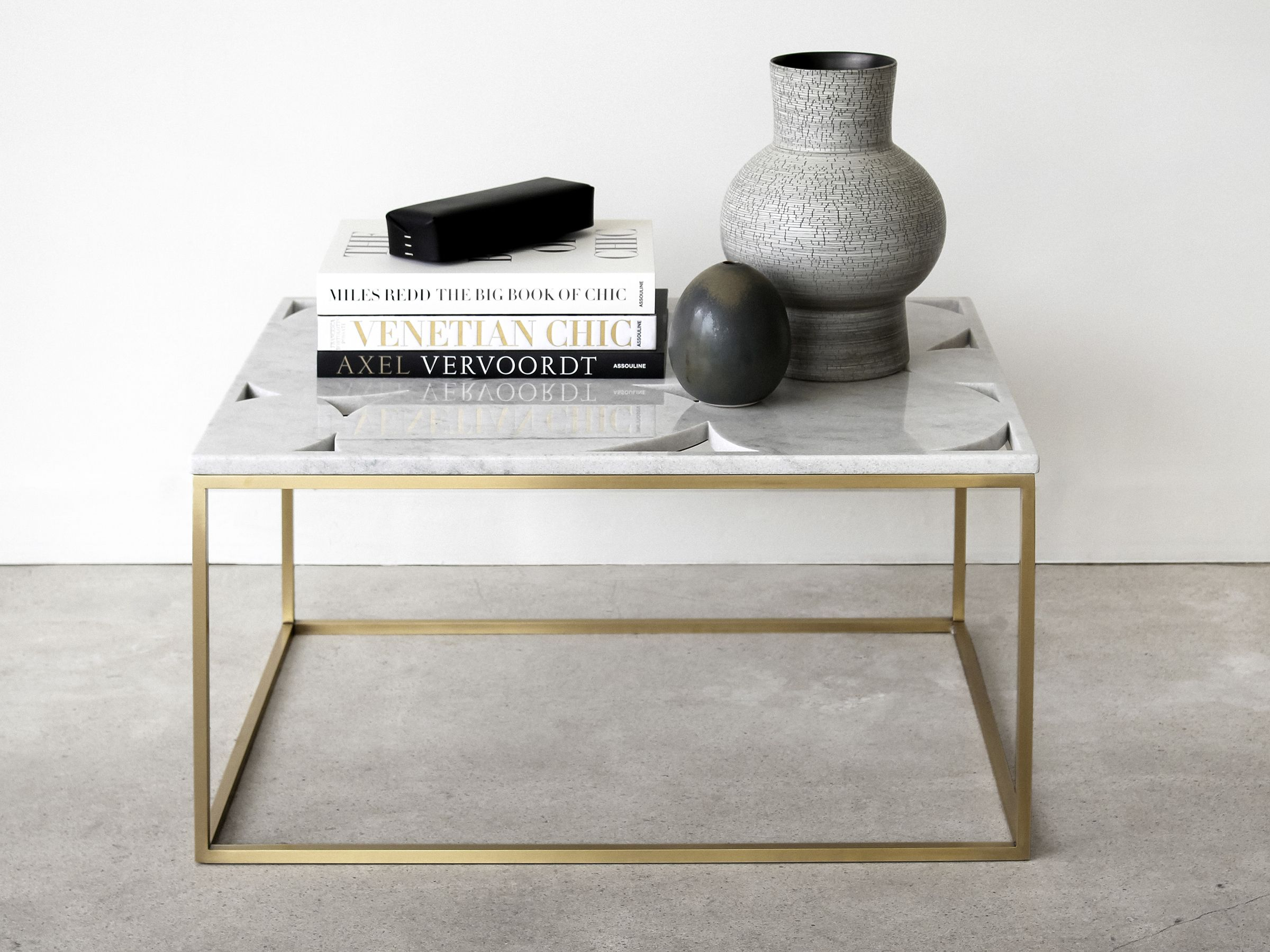 The Qualicum Coffee Table By Quake Furniture The Marble Top