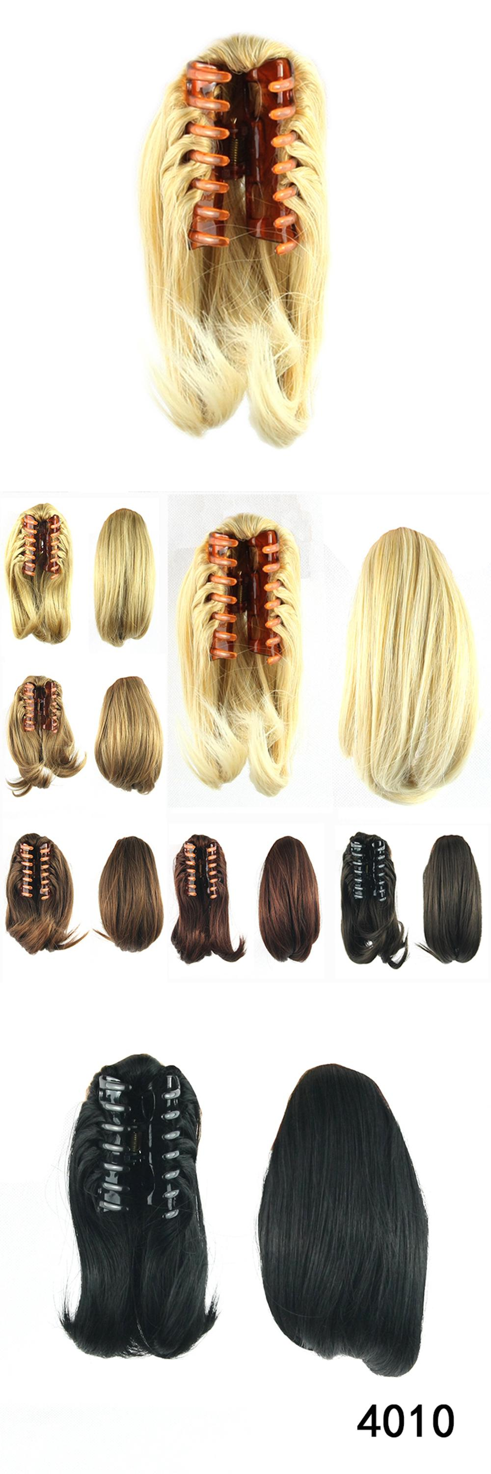 Visit To Buy Hair Ponytails With Clip Bun Synthetic Claw Ponytail Extensions Hairpiece