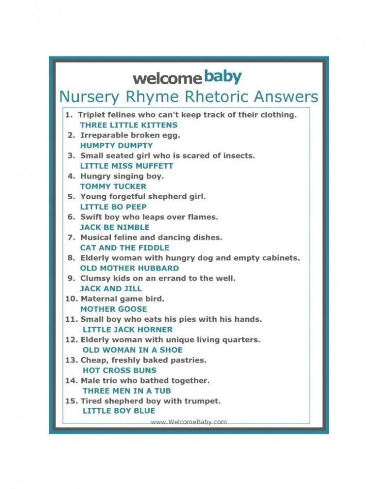 Baby Shower Riddles And Answers Shower Ideas In 2019 Baby Shower