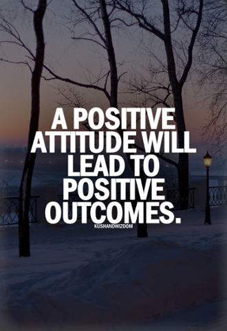 Inspirational Quotes For Young Adults Captivating A Positive Attitude Will Lead To Positive Outcomesbrostoff