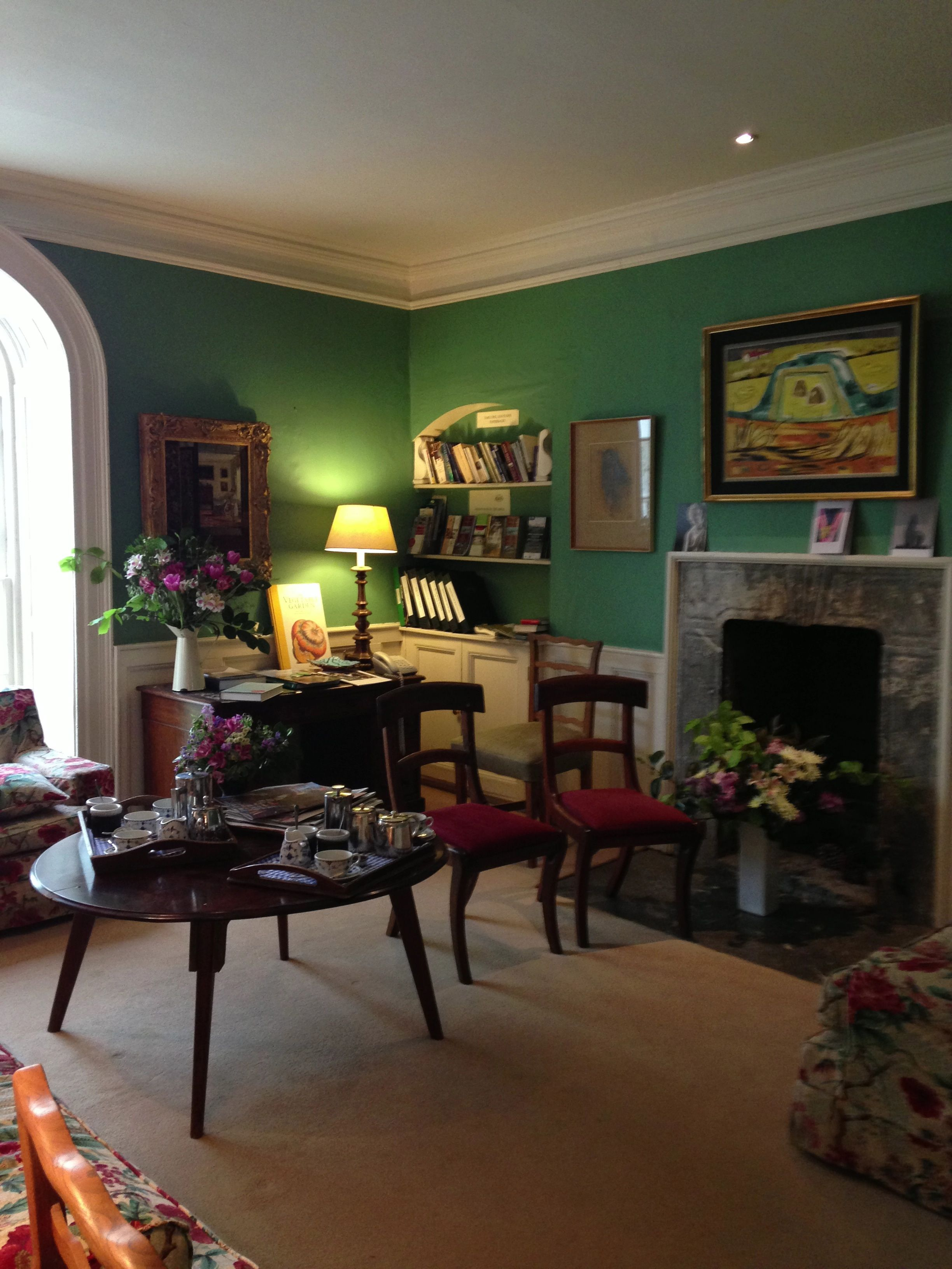Small Drawing Room In Ballymaloe House Great Color