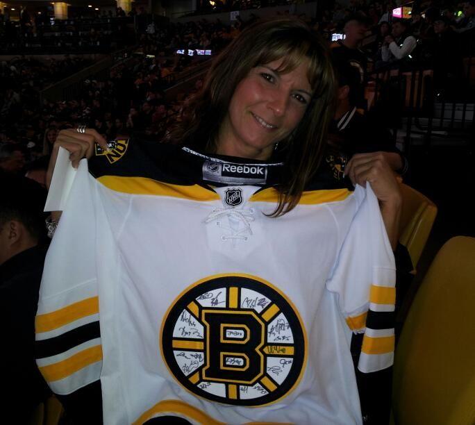 buy popular 9846b 70fdf Shirt off your back-Team signed jersey April 21, 2013 ...