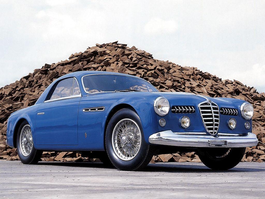 alfa romeo 6c 2500 ss supergioiello coupe '1950 дизайн (ghia
