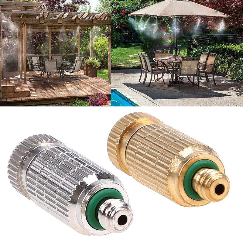 Vernevelingsinstallaties Sproeikop 1 8 3 16 Messing Tuin Beslaan Water Spuit Nozzle Sprinklers Vernevelaars Sprinkler Irrigation Water Sprinkler Sprinkler
