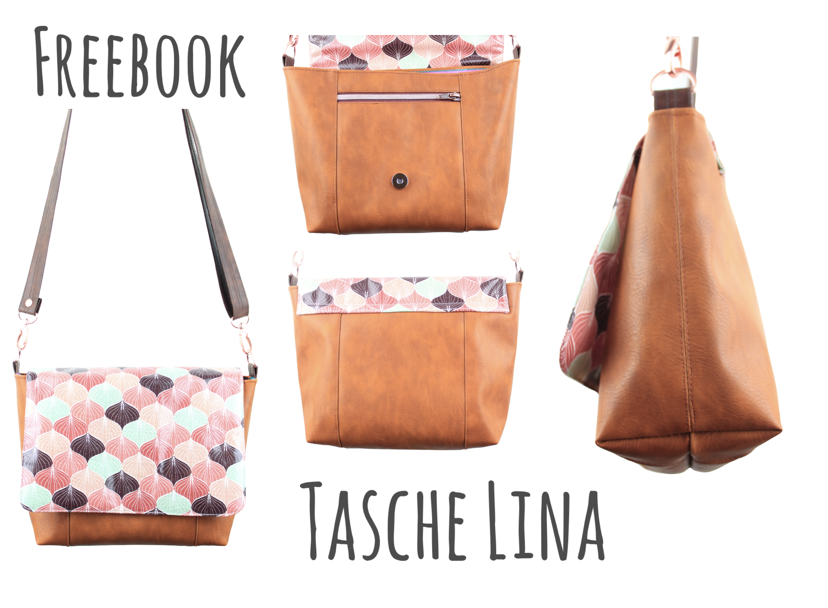 Freebook Tasche Lina ist da! – Bolsa de moda