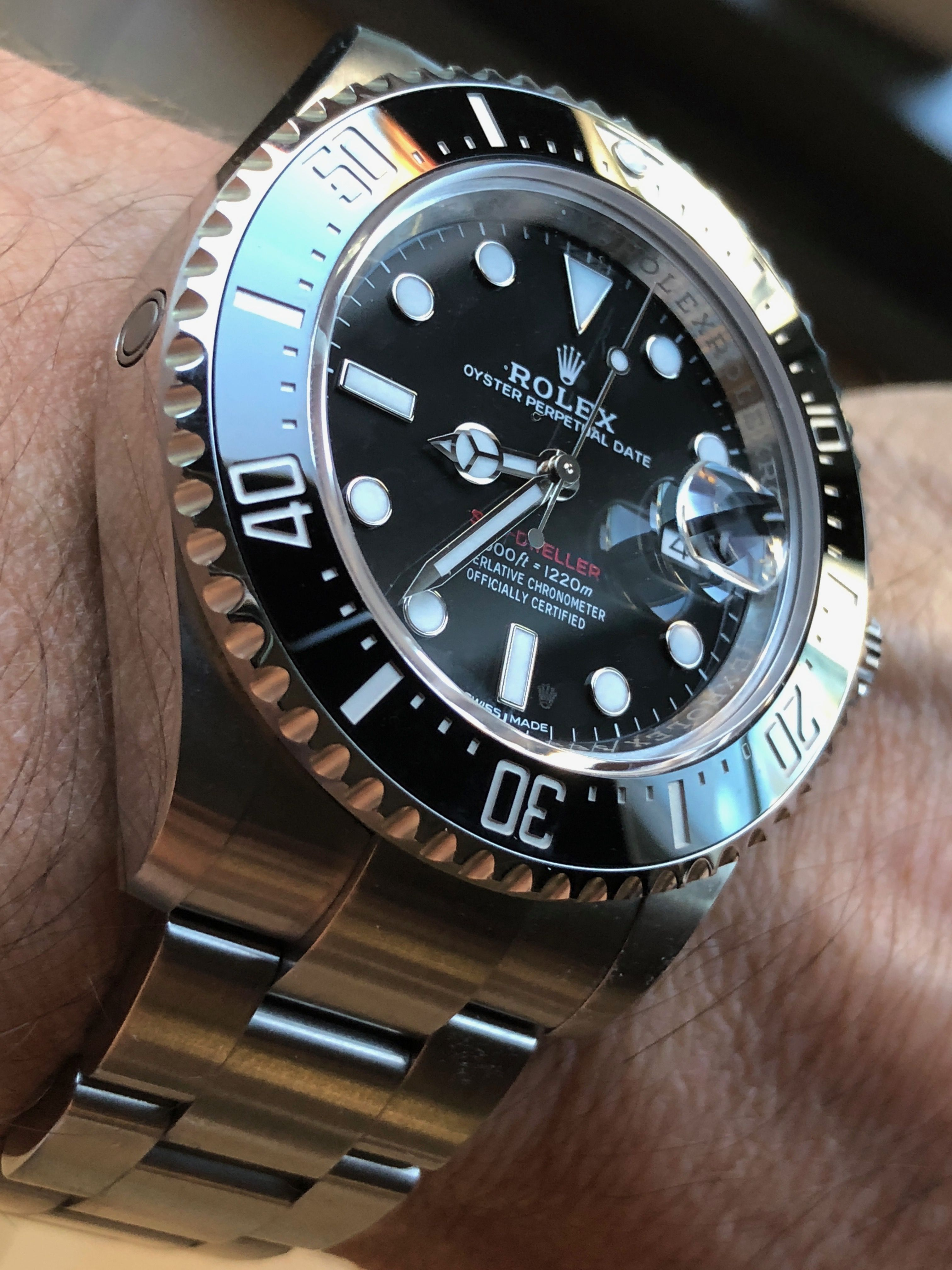 857f52142a82 D-Blue SD vs. SD43 50th...One   Why! - Page 2 - Rolex Forums - Rolex ...