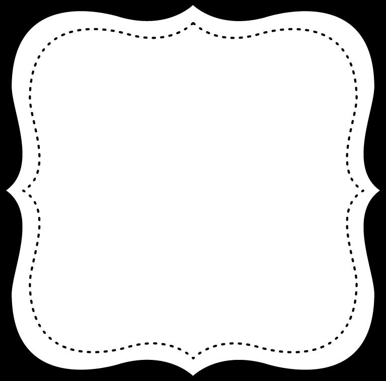 Free Printable Black And Withe Frame Printable Frames Printable