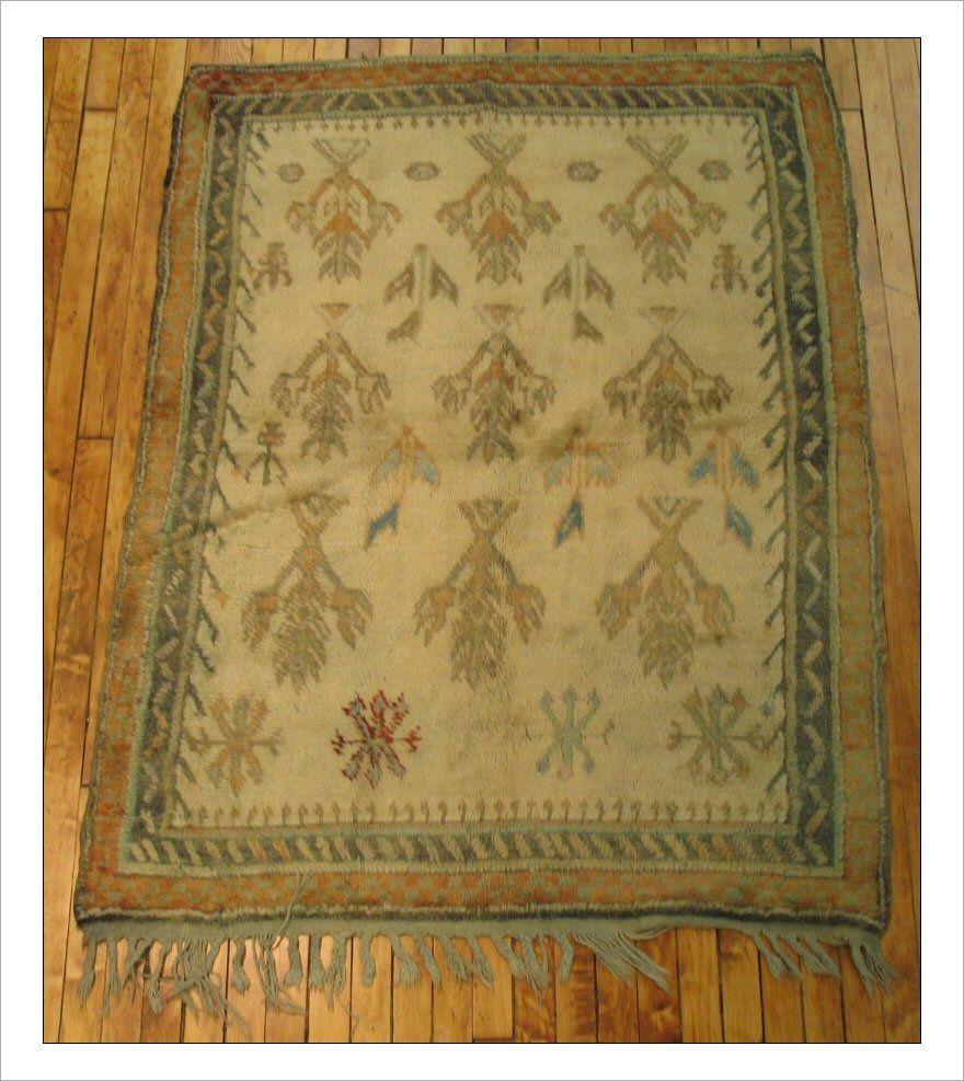 3 10 X 5 2ft Vintage Turkish Tulu 29329 At Jdorientalrugs Com Rugs Vintage Rugs Turkish Rug