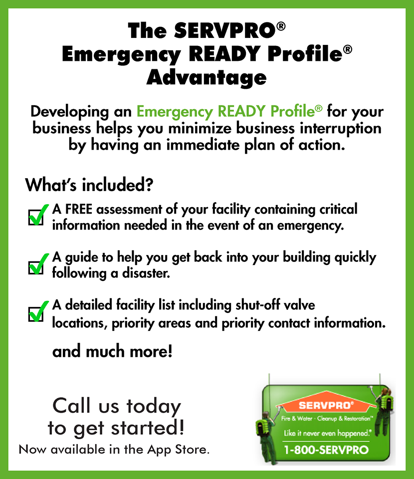 Emergency Preparedness Checklist  Servpro National Images