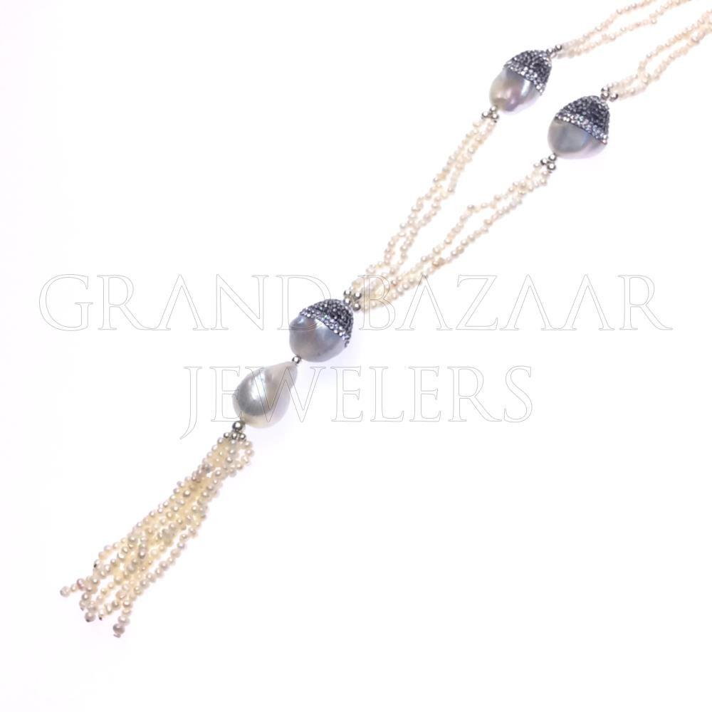 Multi Station Gemstone Necklace Istanbul turkey Turkish jewelry