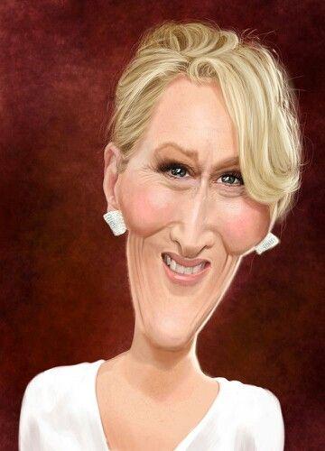 Meryl Streep @@@......http://www.pinterest.com/LeonorM1/cartoons-of-famous/