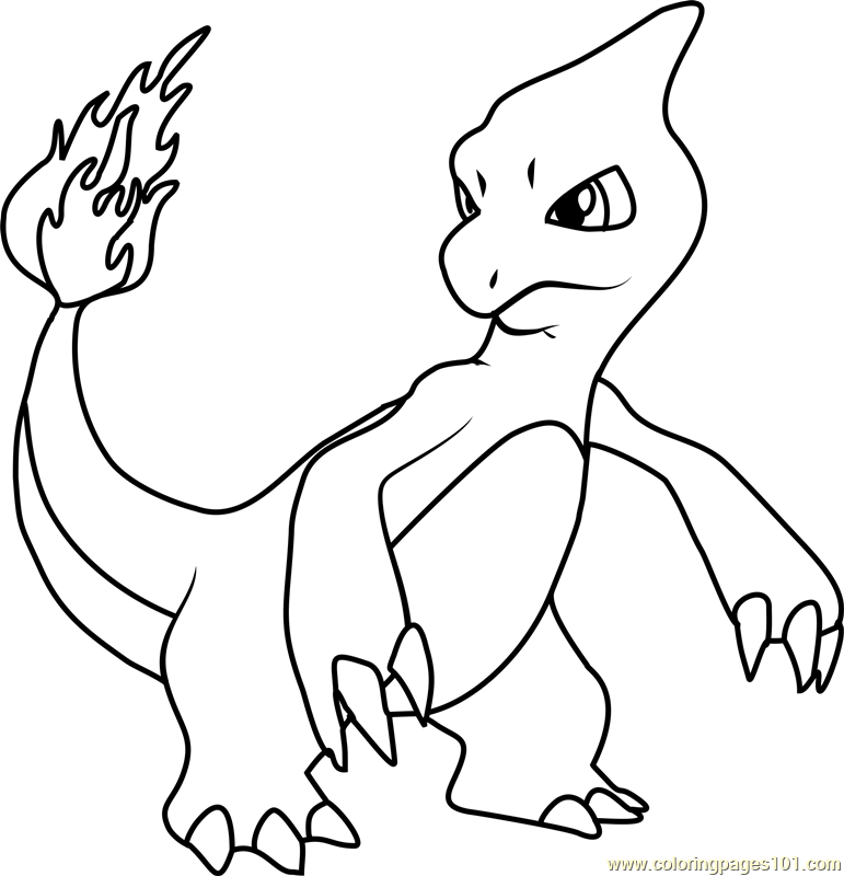 Coloringtop Com Charmeleon Yahoo Image Search Results Coloring Pages Pokemon Coloring Pokemon Coloring Pages