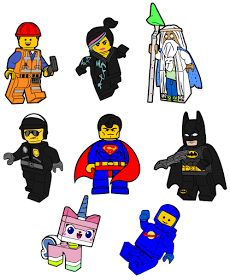 Download Krafty Nook: The Lego Movie SVG Files | Lego movie, Lego ...