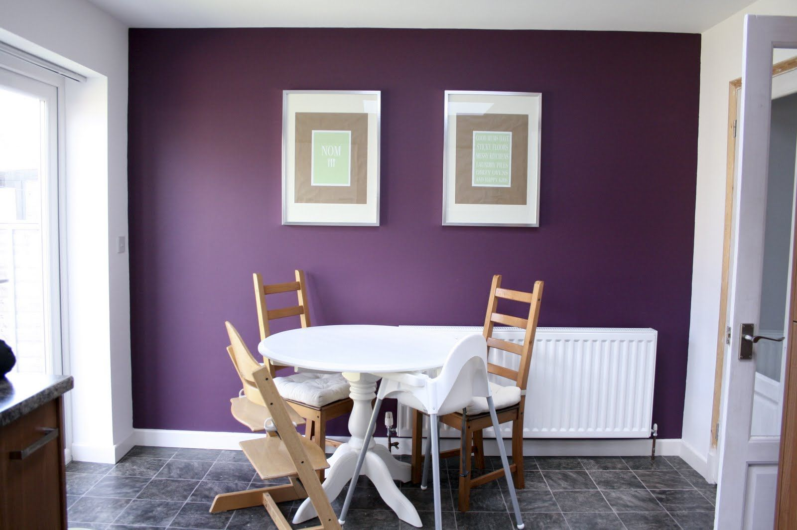 Mulberry Burst Dulux Google Search House Pinterest Purple Walls Wall And Purple Accent