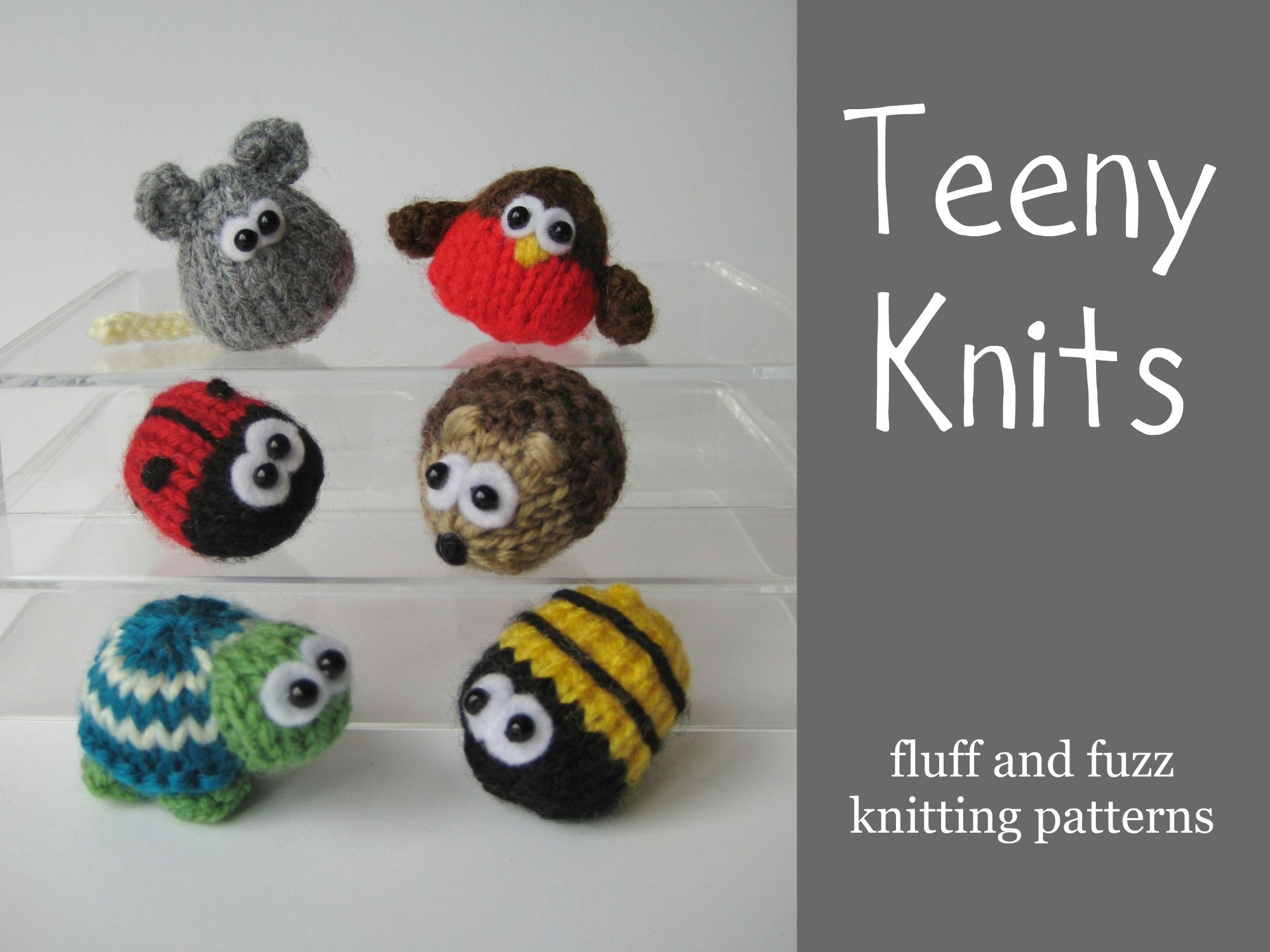 Tiny Knitted Animals Patterns Teeny Knits1 001 Knitting And