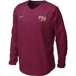 Windshirt with FSU and Spear by Nike
