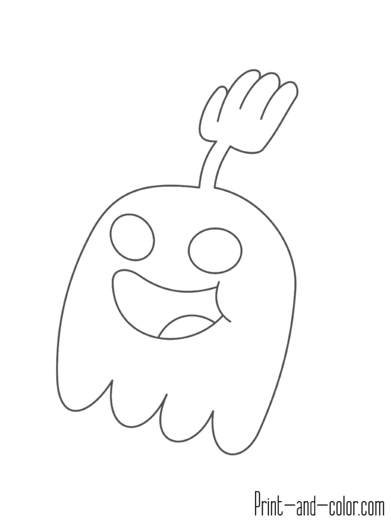 Hi Five Ghost Regular Show Mermaid Wallpapers Coloring Pages