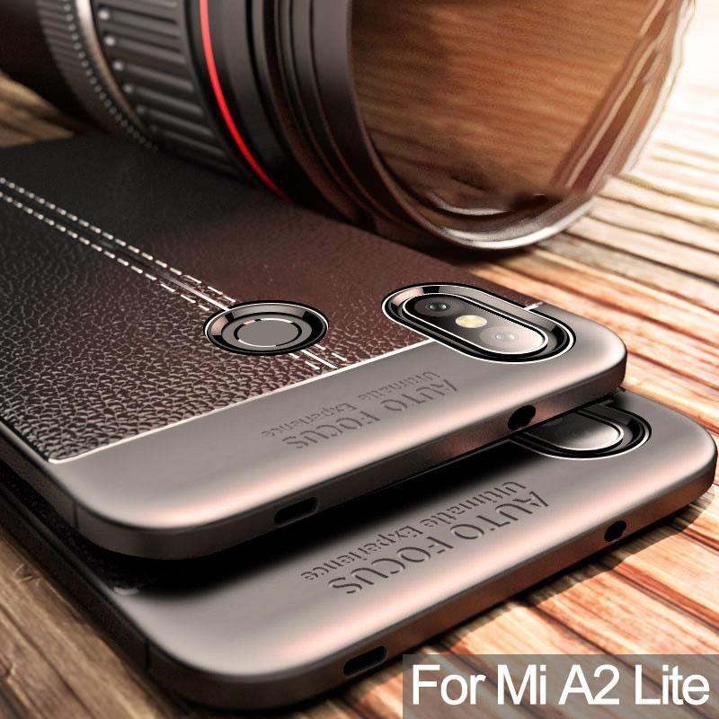 Cover Silicone Bumper Soft Back Cover For Xiaomi Mi A2 Lite Case For Mia2 Lite Xiaomi Iphone Case Covers Leather Phone Case