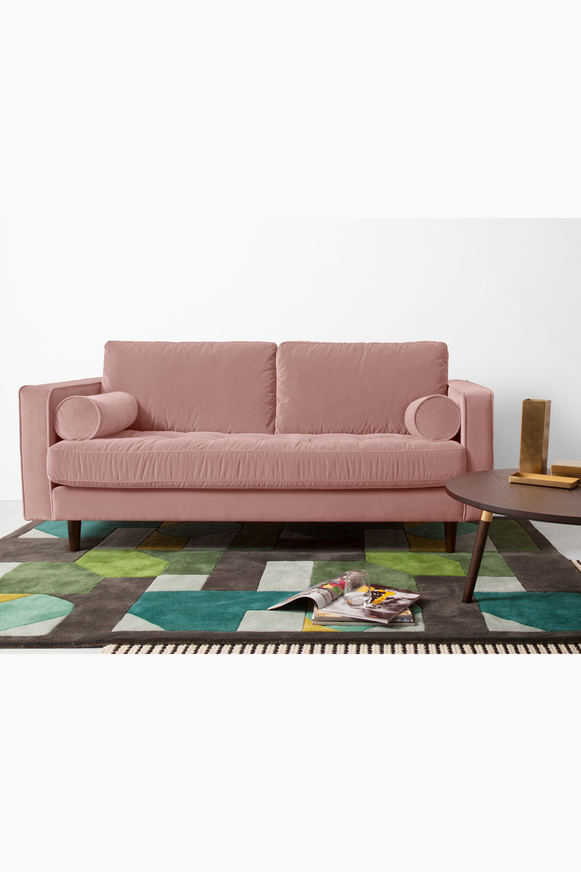 Made Sofa Rosa 2 Seater Sofa Sofa Cotton Velvet