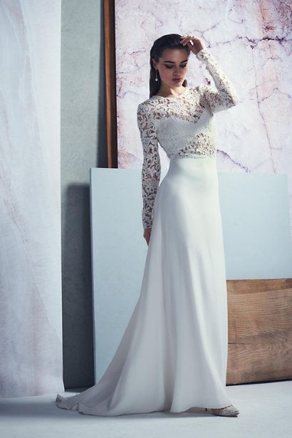 Ivory Forsyth Gown | BHLDN | One fine day... | Pinterest | Gowns and ...
