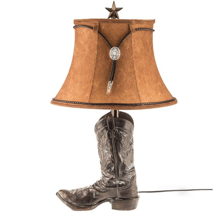 Get Brown Resin Boot Lamp Online Or Find Other Lamps Products From Hobbylobby Com Lamp Brown Boots Boots