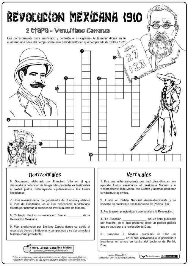 Revolución Mexicana 3ero Bgu Revolucion Mexicana Dibujos