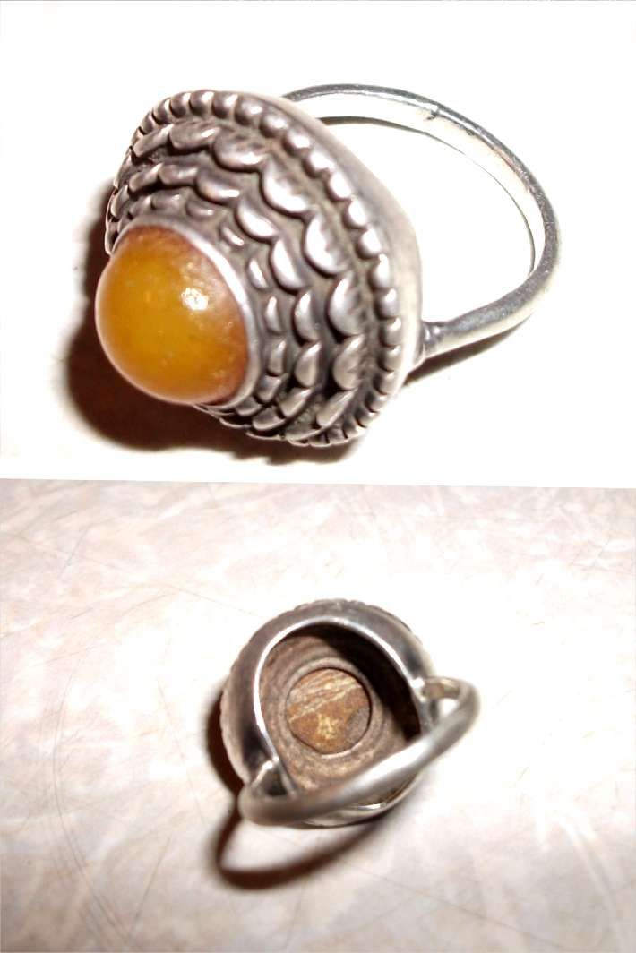 кольцо из Армении, окола 100 лет, название камня установить не удалось