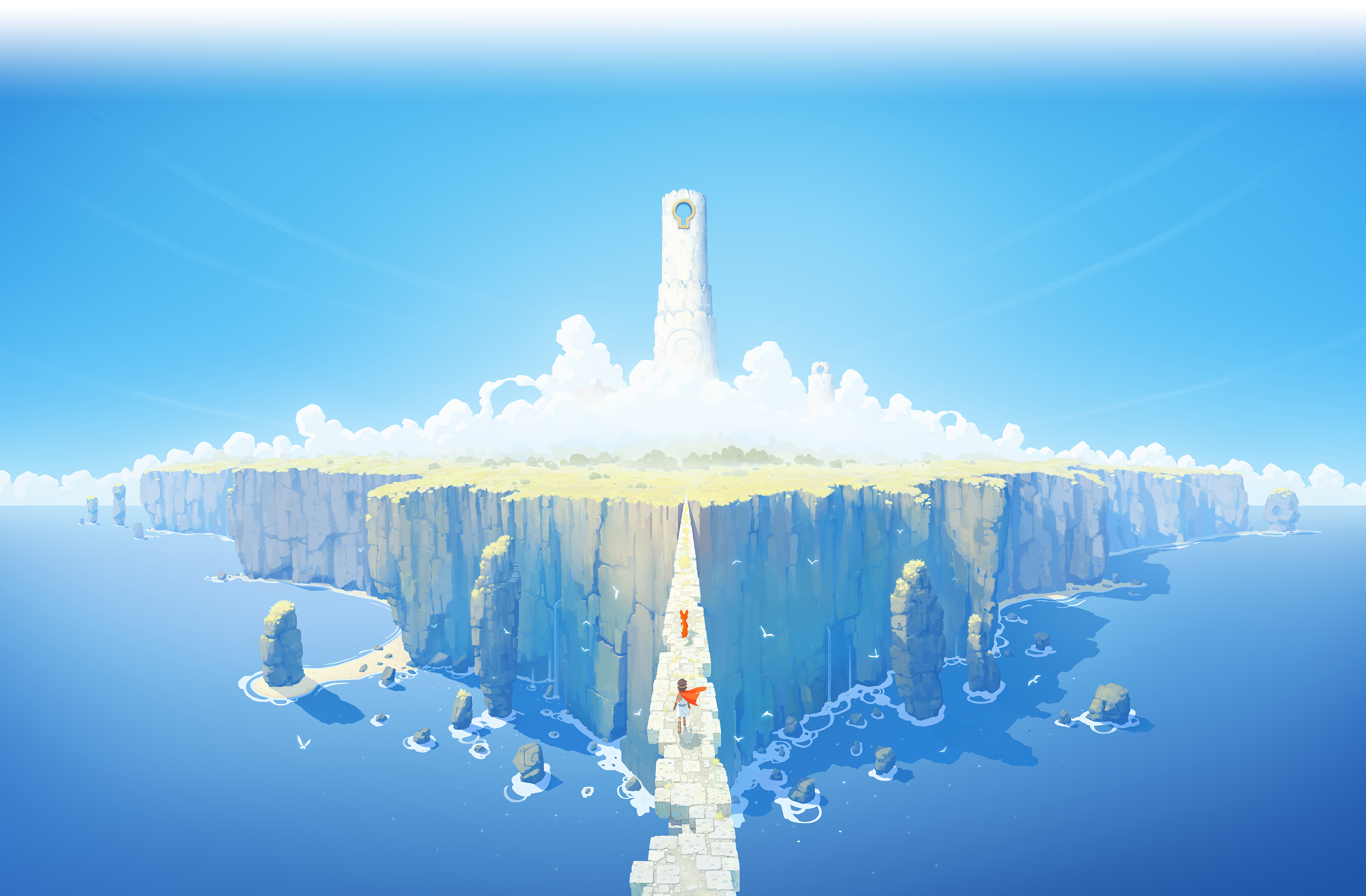Rime Website Background That Can Be Used For Wallpaper Game Concept Art 3840x2160 Wallpaper Hd Wallpaper